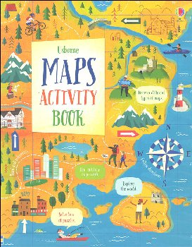 Maps Activity Book (Usborne)