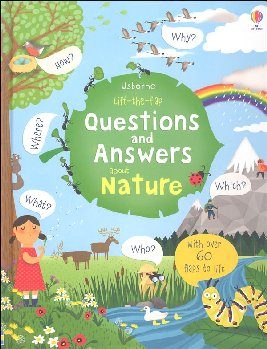 Questions and Answers About Nature (Usborne Lift the Flap First Questions and Answers)
