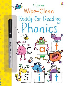 Ready for Reading: Phonics (Wipe-Clean)