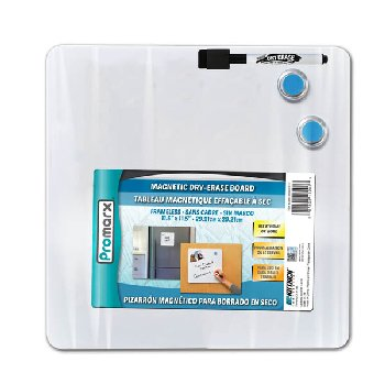 "Magnetic Dry-Erase Board Kit (11.5"" X 11.5"")"