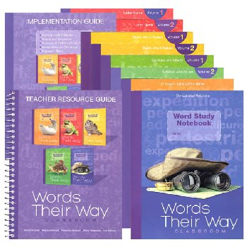 Words Their Way Classroom K-5