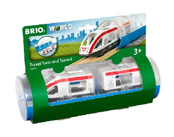 BRIO Travel Train and Tunnel