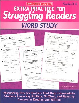 Extra Practice for Struggling Readers - Word Study