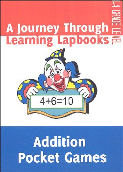 Addition Pocket Games Lapbook pdf (on CD ROM)