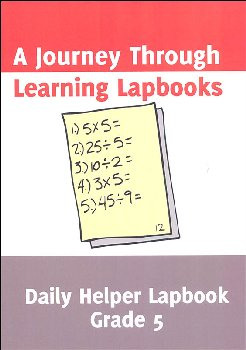 Daily Helper Gr.5 Math Lapbook pdf (CD ROM)
