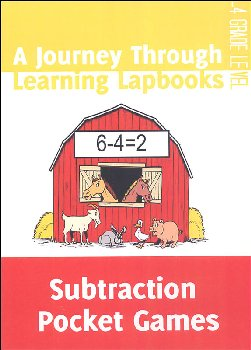 Subtraction Pocket Games Lapbook pdf (on CD ROM)