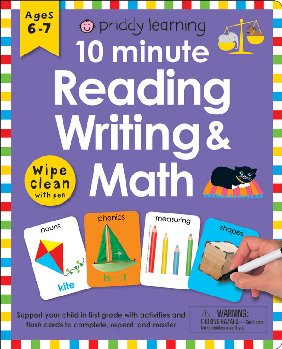 Wipe Clean Workbook: 10 Minute Reading, Writing, and Math
