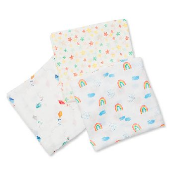High in the Sky Swaddling Blankets (3 pack)