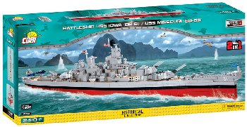 Battleship Missouri BB-63 - 2400 pieces (World of Warships)