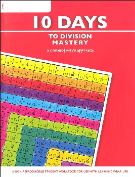 10 Days to Division Mastery Workbook (64 pages)