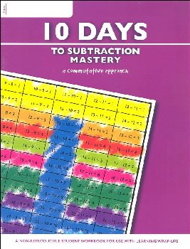 10 Days to Subtraction Mastery Workbook (64 pages)