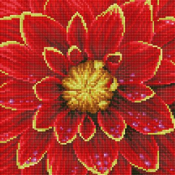 Dahlia Diamond Dotz Kit (Intermediate)