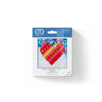Patchwork Heart Diamond Dotz Kit (Starter)