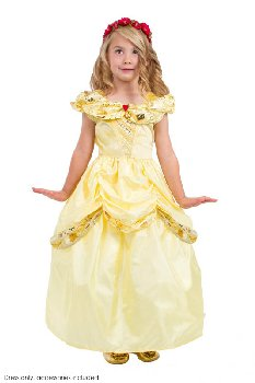 Classic Yellow Beauty Dress - Ages 11-13