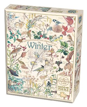 Country Diary: Winter Seasons Puzzle (1000 piece)