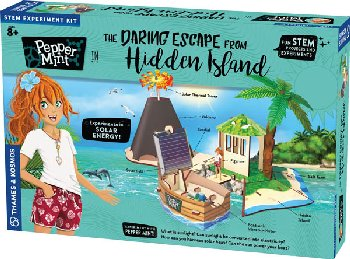 Daring Escape From Hidden Island (Pepper Mint)