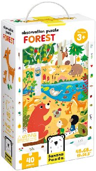 Forest Observation Puzzle (40 pieces)
