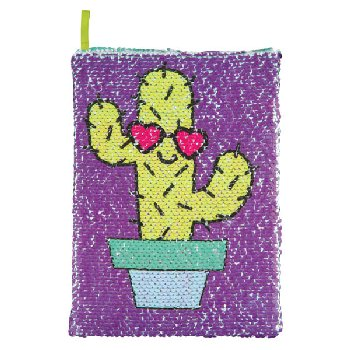Magic Sequin Cactus / Can't Touch Reveal Journal