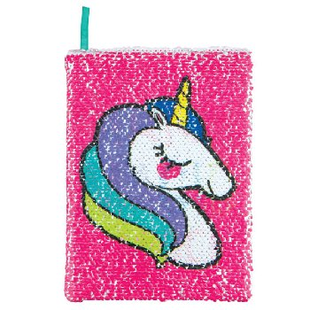 Magic Sequin Unicorn / Make Magic Reveal Journal