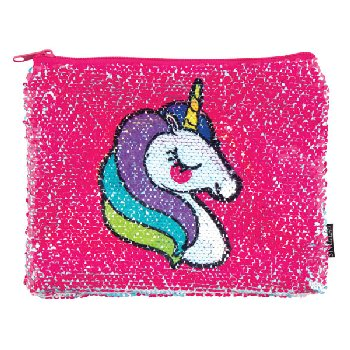 Unicorn / Rainbow Reveal Magic Sequin Pouch
