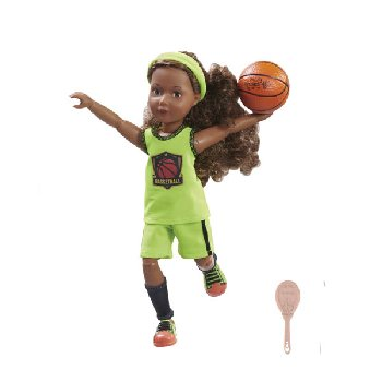 Joy Star Basketball Player (includes doll)