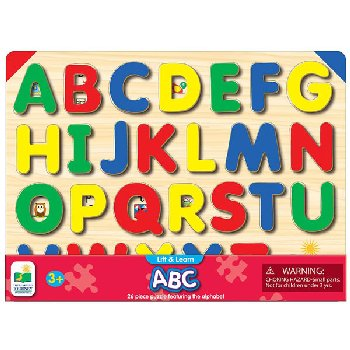 Lift & Learn ABC Puzzle