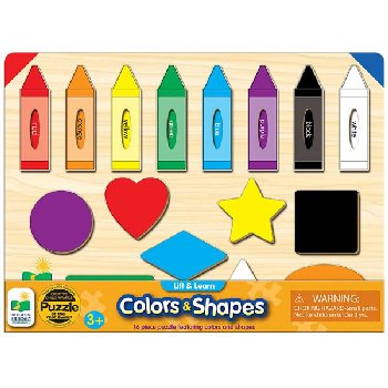 Lift & Learn Colors and Shapes Puzzle