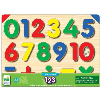 Lift & Learn Number Puzzle