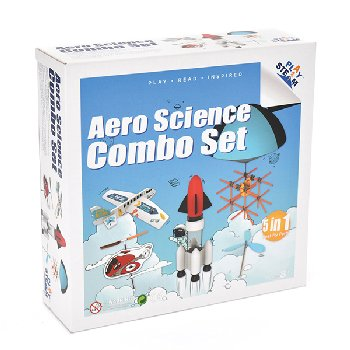 PlaySTEAM Aero Science Combo Set (5-in-1)