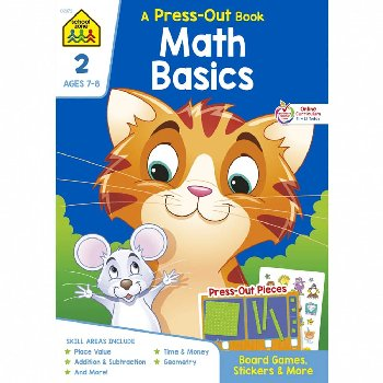 Math Basics 2 (Press-Out Book)
