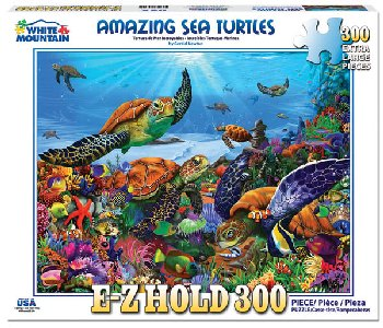 Amazing Sea Turtles Jigsaw Puzzle (300 piece)
