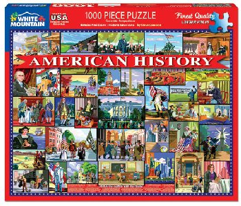 American History Jigsaw Puzzle (1000 piece)