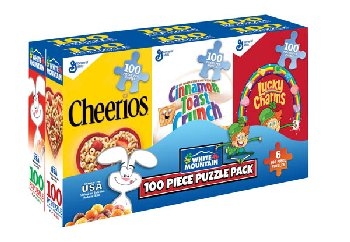 Cereal Boxes Puzzles - 6 pack (100 piece each)