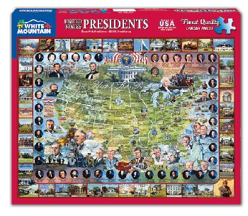 United States Presidents Jigsaw Puzzle (1000 piece)