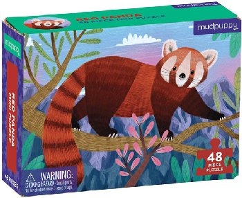 Red Panda Mini Puzzle (48 pieces)