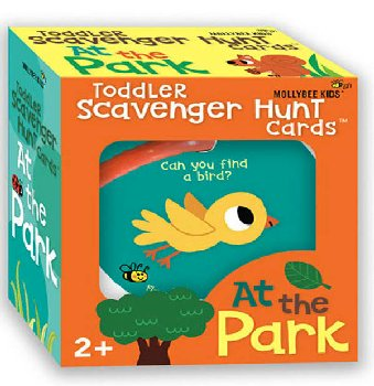 At the Park Toddler Scavenger Hunt Cards