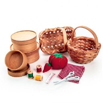 Baskets and Sewing Accessories (Little House Dolls & Accessories)