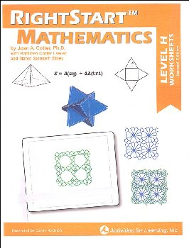 RightStart Mathematics Level H Worksheets (2nd edition)