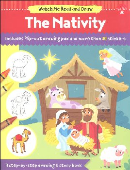 Watch Me Read and Draw: Nativity Step-by-Step Drawing & Story Book