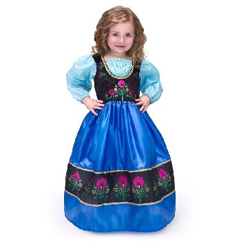 Scandinavian Princess Costume - Large