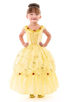 Yellow Beauty Dress - Large