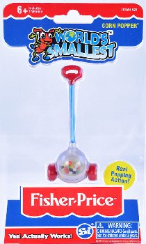 World's Smallest Fisher Price Corn Popper
