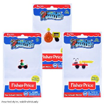 World's Smallest Fisher Price Little People (assorted style)