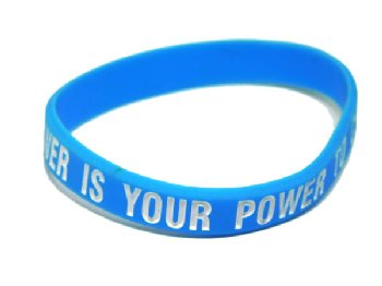 Your Greatest Power Is Your Power to Choose Bracelet - Blue Child Size
