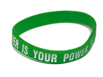 Your Greatest Power Is Your Power to Choose Bracelet - Green Child Size