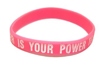 Your Greatest Power Is Your Power to Choose Bracelet - Pink Child Size