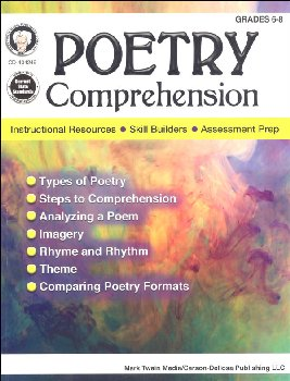 Poetry Comprehension Grades 6-8