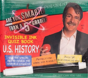AYSTA 5th Grdr?Inv.Ink Quiz Bk - U.S. History