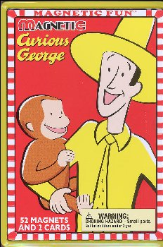 Curious George: Magnetic Fun Full Size Tin