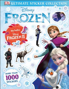 Disney Frozen Ult Stckr Collection:w/Frozen 2